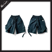 RawSushiApparel Bottoms Blue / S RSC7 Tactical Cargo Shorts