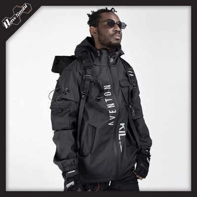 RawSushiApparel Jackets / Coats RSD6 Tactical Cargo Jacket