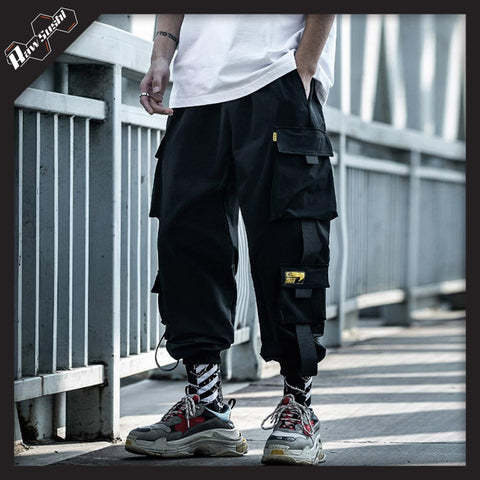 RawSushiApparel Bottoms RSD7 Baggy Techwear Trousers