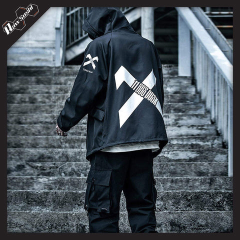 RawSushiApparel Jackets / Coats RSD9 Urban Techwear Windbreaker