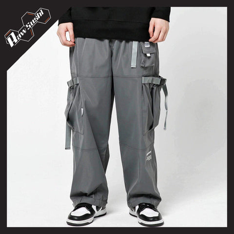 RawSushiApparel Bottoms GRAY / M RSE0 Multi-Pocket Cargo Pants