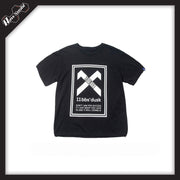 RawSushiApparel Tees Black / M RSE0 Printed Cotton Tee