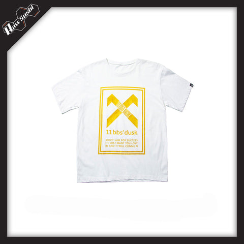 RawSushiApparel Tees White / S RSE0 Printed Cotton Tee