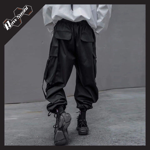 RawSushiApparel Bottoms RSE3 Big Pockets Harajuku Cargo Pants