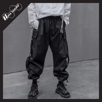 RawSushiApparel Bottoms XL RSE3 Big Pockets Harajuku Cargo Pants