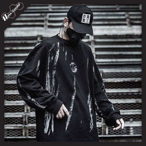 RawSushiApparel Sweatshirts S RSF1 Techwear Cotton Sweater