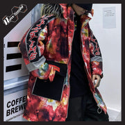 RawSushiApparel Jackets / Coats L RSF4 Color Block Harajuku Streetwear Winter Jacket