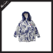 RawSushiApparel Jackets / Coats XL RSG3 Casual Camo Jacket