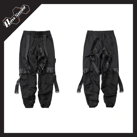 RawSushiApparel Bottoms RSH0 Multi-Pockets Cargo Pants