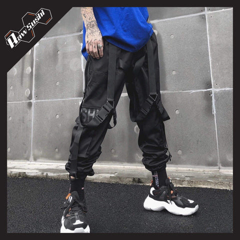 RawSushiApparel Bottoms XS RSH0 Multi-Pockets Cargo Pants