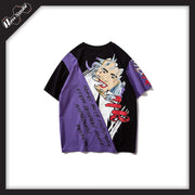 RawSushiApparel Tees Black purple / XL RSH3 Casual Harajuku Tee