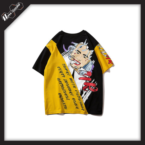 RawSushiApparel Tees Black yellow / XL RSH3 Casual Harajuku Tee