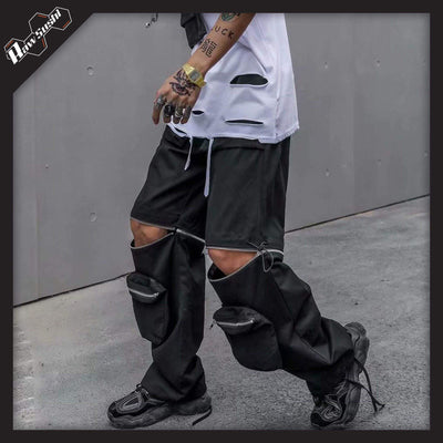 RawSushiApparel Bottoms XL / Black RSH7 Tactical Streetwear Pants