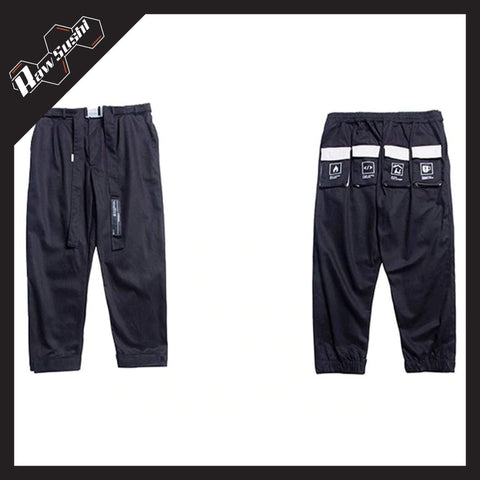 RawSushiApparel Bottoms RSJ4 Tactical Multi-Pockets Streetwear Joggers