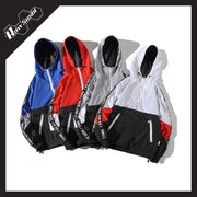 RawSushiApparel Jackets / Coats RSN1 Color Block Streetwear Windbreaker