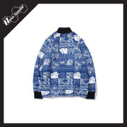 RawSushiApparel Sweatshirts RSR7 Creative Turtleneck Streetwear Sweater