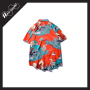 RawSushiApparel Tees RSX4 Japanese Style Hawaii Shirt