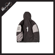 RawSushiApparel Jackets / Coats RSZ1 Retro Color Block Streetwear Jacket