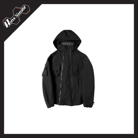 RawSushiApparel Jackets / Coats RSZ3 Tactical Reflective Streetwear Jacket