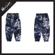 RawSushiApparel Bottoms RSZ6 Thick Tie-Dye Winter Cargo Pants