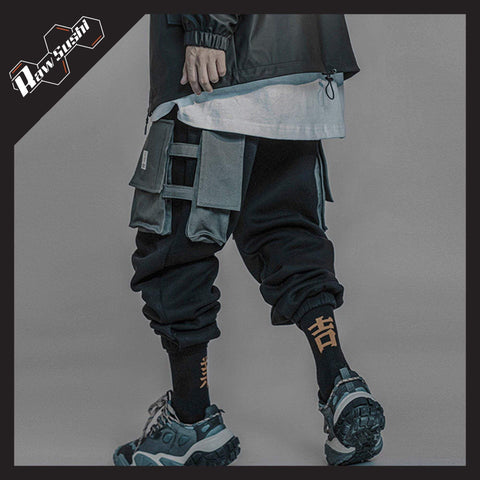 RawSushiApparel Bottoms RTA0 Casual Multi-Pocket Streetwear Jogger