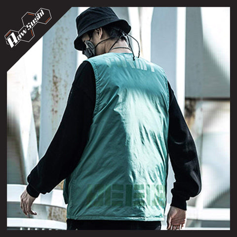 RawSushiApparel Jackets / Coats RTA5 Casual Tech Multi-Pockets Streetwear Vest