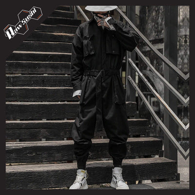 RawSushiApparel Jackets / Coats L RTA7 Tactical Function Cargo Overall