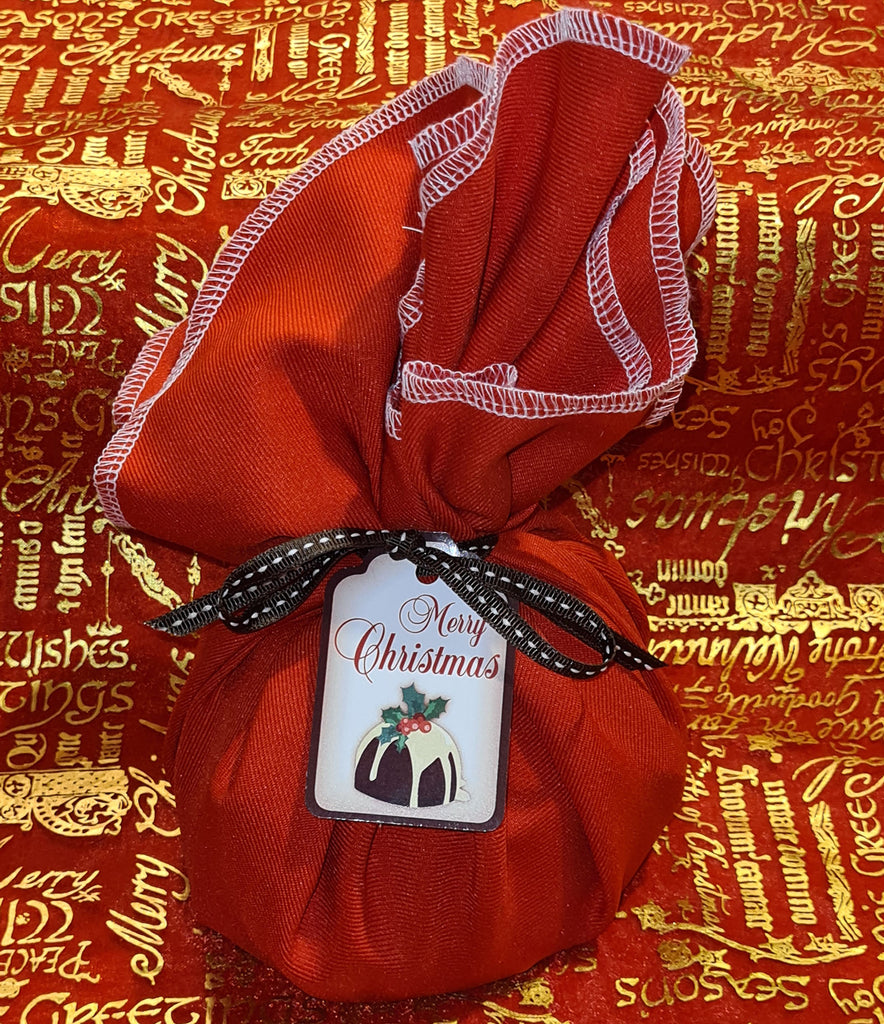 Gluten Free Cloth Wrapped Traditional Christmas Pudding 1kg