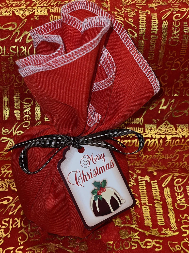 Gluten Free Cloth Wrapped Traditional Christmas Pudding 500gm