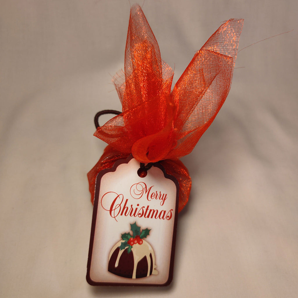 Gluten Free Traditional Christmas Pudding (Red Organza)