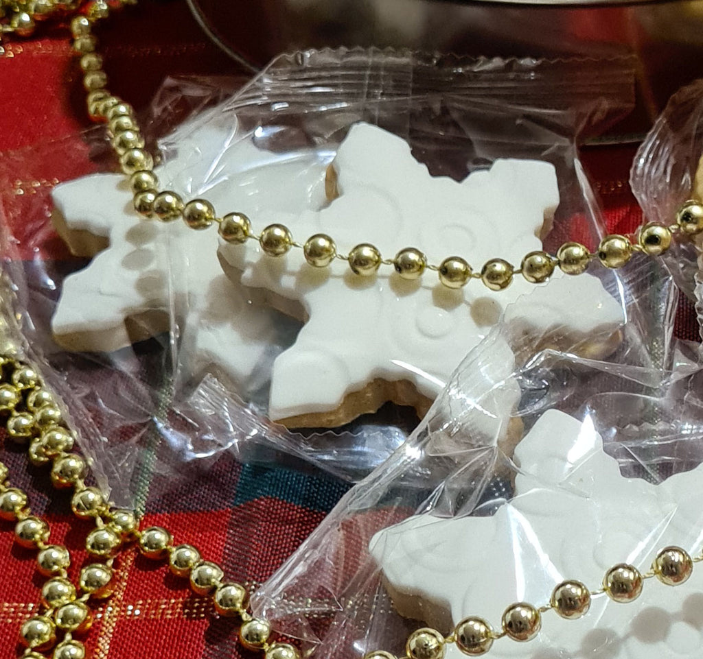 Gluten Free Gingerbread Christmas Star Cookies - 12 Pack