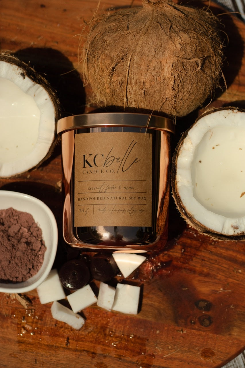 Coconut Water & Acai  - 14 oz. Candle