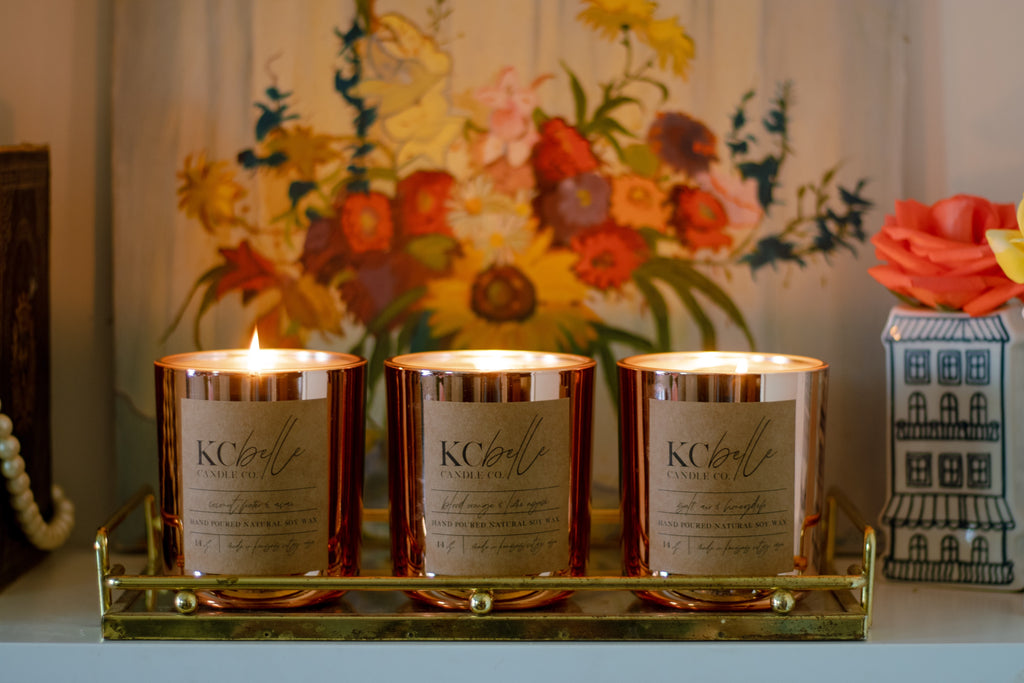 Sweet Summertime Collection - Set of Three 14 oz. Candles