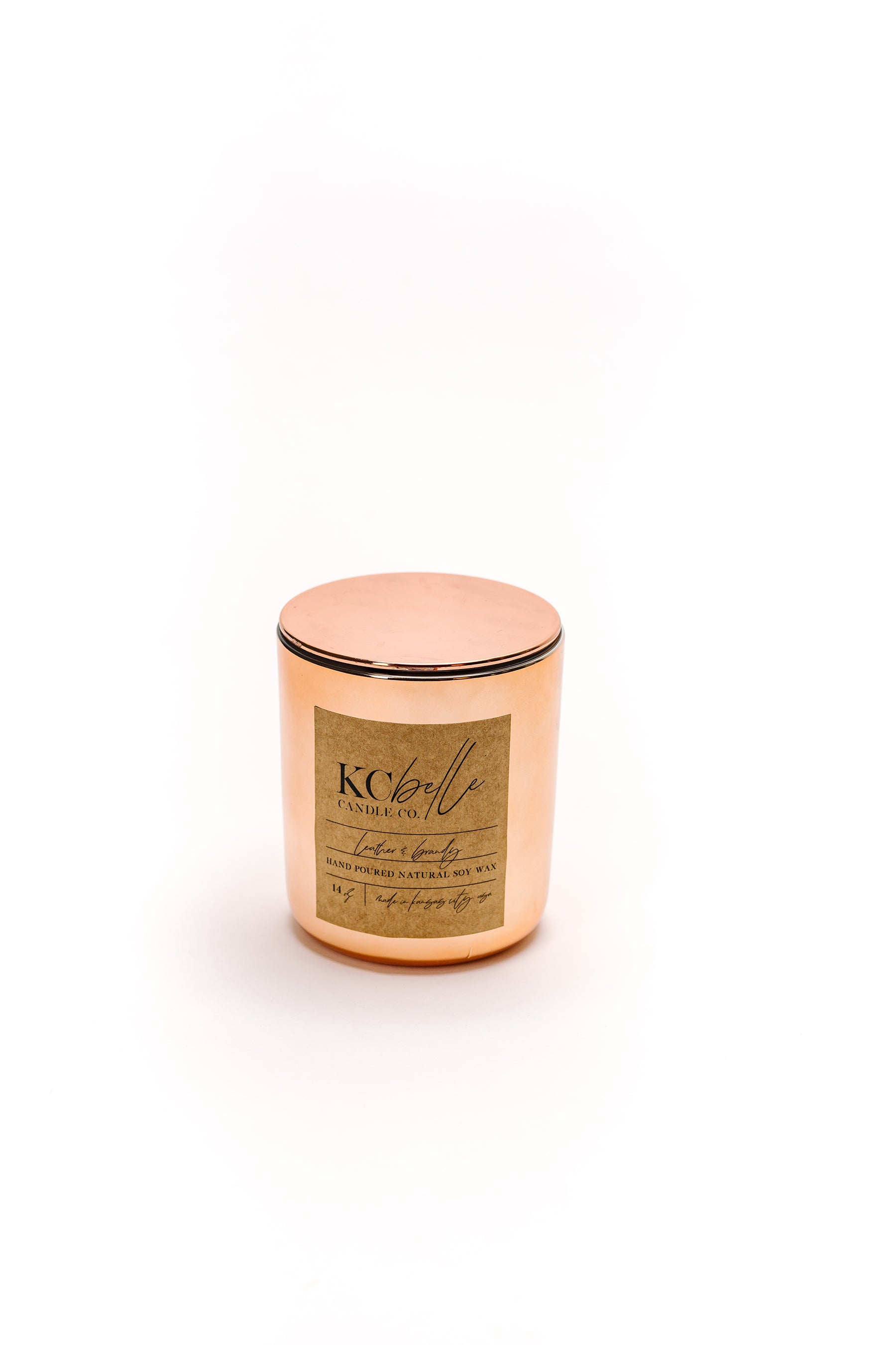 Leather & Brandy - 14 oz. Candle