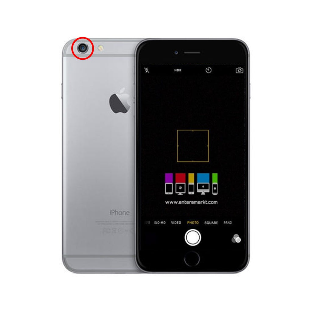CAMBIO CAMARA TRASERA IPHONE 6S PLUS