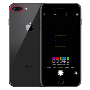 CAMBIO CAMARA TRASERA IPHONE 8 PLUS
