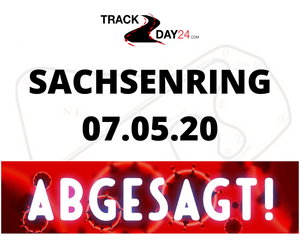 TRACKDAY Sachsenring 07.05.20