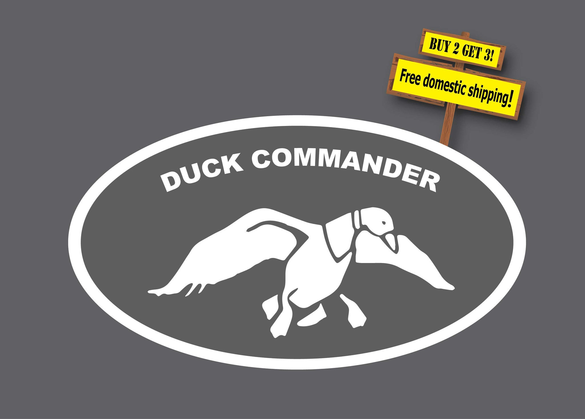 Banksy panda with guns sticker truck stickers logos and vinyl - Duck Commander Duck Dynasty No Gun Control Browning Hunting Lake 7 By 3 5 Decal Sticker Buy 2 Get 3 Free Shipping Choose Any Color