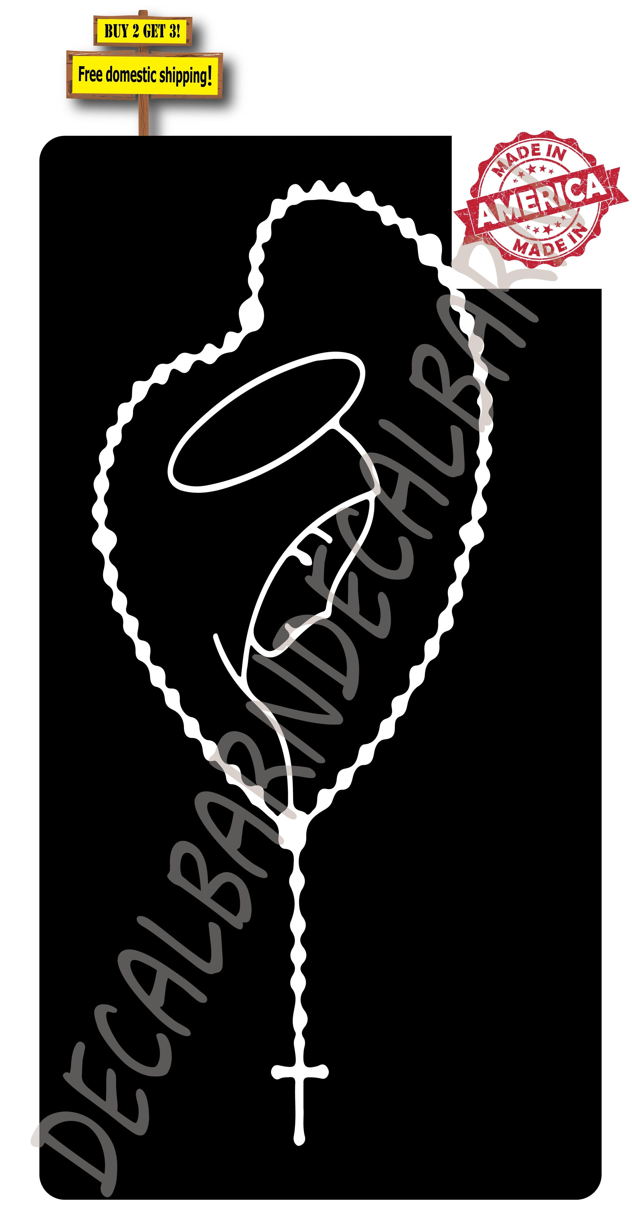 Rosary Mary Catholic Vinyl Die Cut Decal Sticker Buy 2 Get 3 Free Shipping