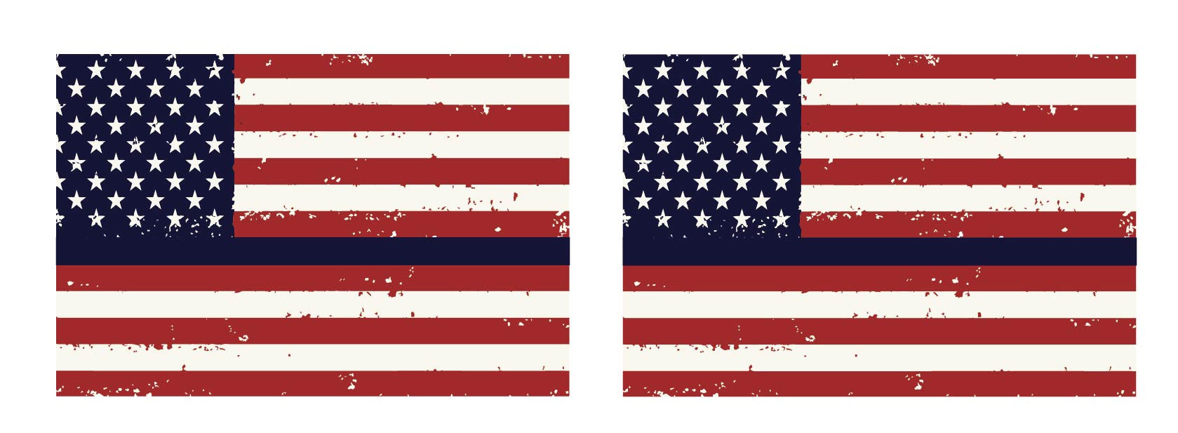 Thin Blue Line Tattered Flag Support The Fallen Police Buy