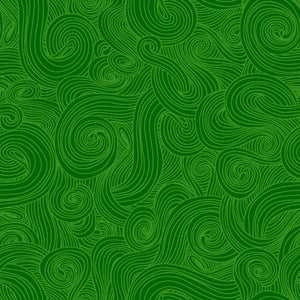 Just Color! Swirl 1351-Green