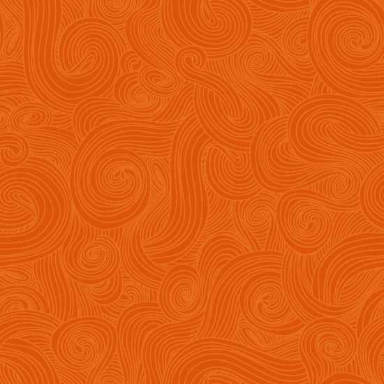 Just Color! Swirl 1351-Orange