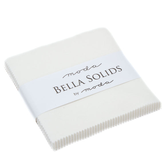 Bella Solids Charm Pack - Off-White