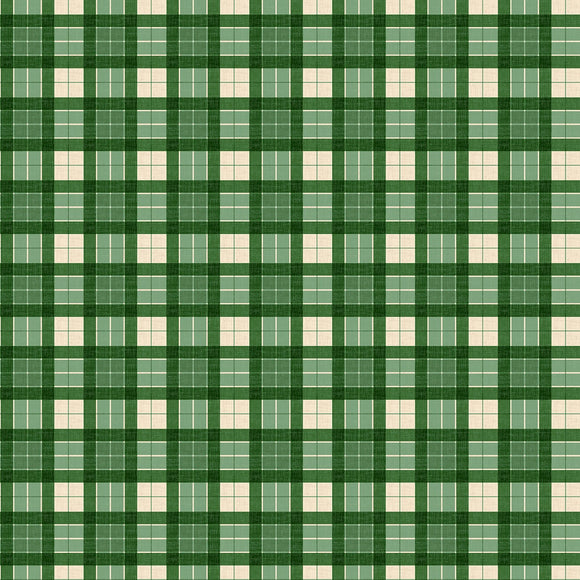 Evergreen Farm - Green Plaid