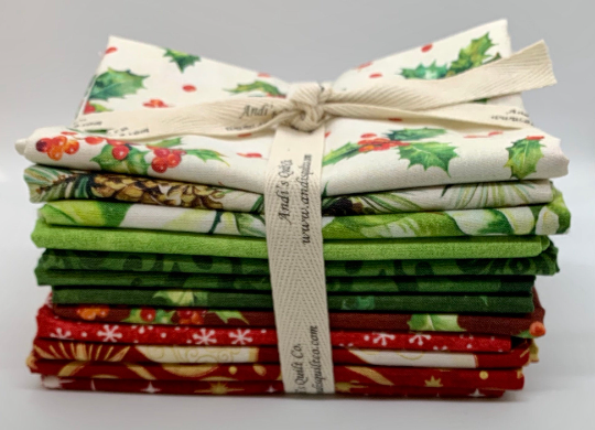 Northcott Curated Christmas FQ Bundle