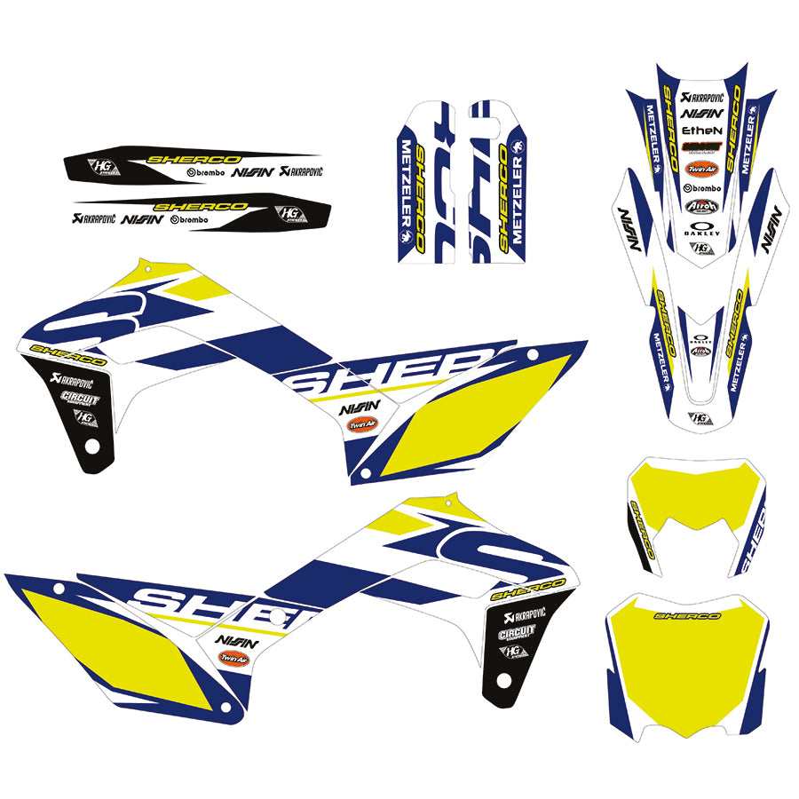 SHERCO GRAPHICS KIT