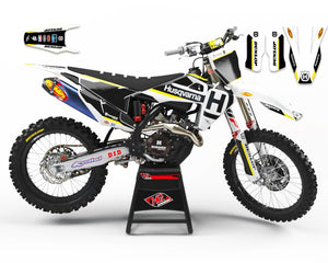"HUSQVARNA GRAPHICS KIT ""LEGACY"""