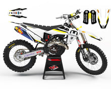 "Load image into Gallery viewer, HUSQVARNA GRAPHICS KIT ""RACING"""