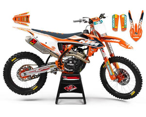 "KTM GRAPHICS KIT ""EDGE"""