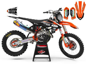 "KTM GRAPHICS KIT ""RACING"""